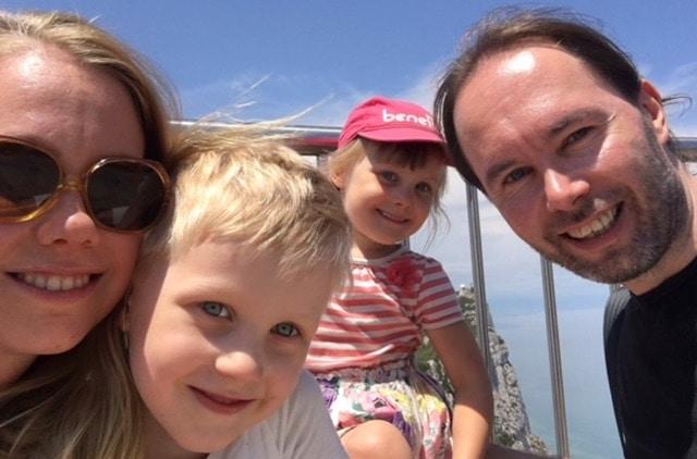 Perhe-elämää Giglellä
